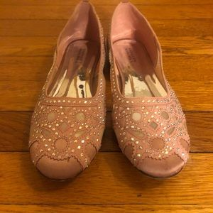 Badgley Mischka pink shoes girl size 5